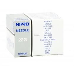 Nipro Needle, najostrzejsze igły iniekcyjne, 100 szt.