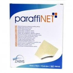 Opatrunek nasączony parafiną ParaffiNET, 10 szt.