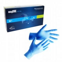 EasyCARE rękawiczki nitrylowe jednorazowe niebieskie 100 szt.
