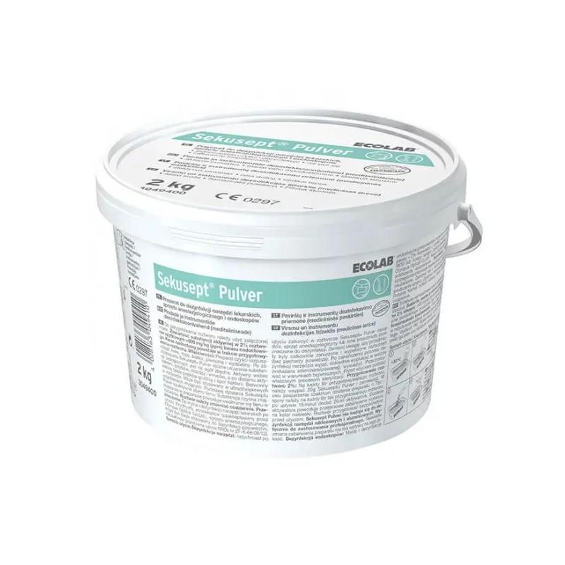 Ecolab Sekusept Pulver proszek do mycia i dezynfekcji narzędzi 2 kg