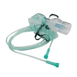 Maska tlenowa z drenem i nebulizatorem sterylna