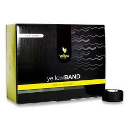 YellowSPORT Bandaż samoprzylepny YellowBAND czarny 36 szt.