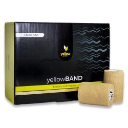 YellowSPORT Bandaż samoprzylepny YellowBAND cielisty 12 szt.