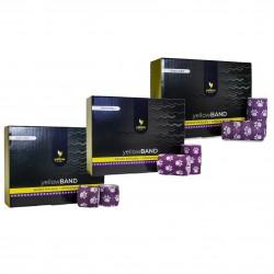 YellowSPORT Bandaż samoprzylepny YellowBAND fioletowy w łapki 12 szt.