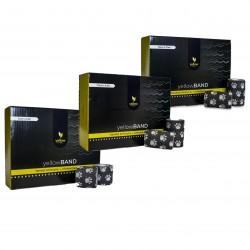 YellowSPORT Bandaż samoprzylepny YellowBAND czarny w łapki 12 szt.
