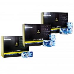 YellowSPORT Bandaż samoprzylepny YellowBAND niebieski moro 12 szt.