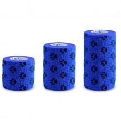 Stokmed Bandaż samoprzylepny Stokband niebieskie łapki