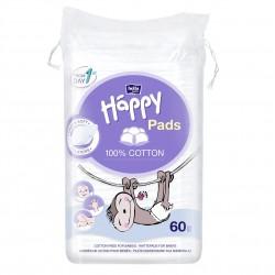 Bella Baby Happy Płatki kosmetyczne dla dzieci Cotton Pads 60 szt.