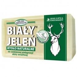 Biały Jeleń mydło w kostce hipoalergiczne, naturalne 150 g
