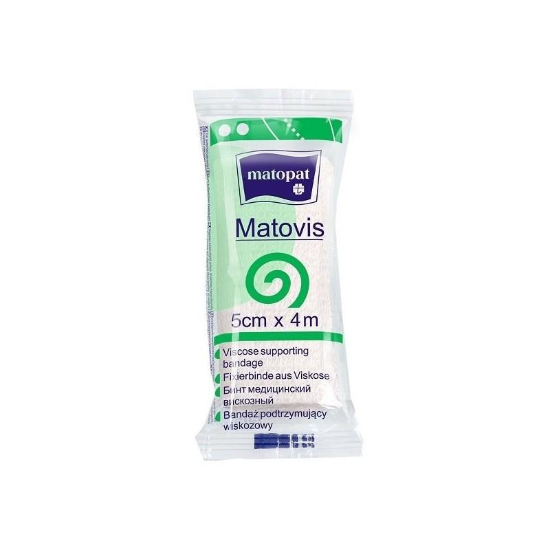 Matovis  bandaż nieelastyczny, podtrzymujący, jednorazowy (wiskozowy)