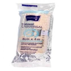 Matopat Universal bandaż elastyczny, uniwersalny z zapinką (niejałowy)