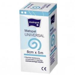 Bandaż elastyczny, uniwersalny z zapinką Matopat Universal (niejałowy)