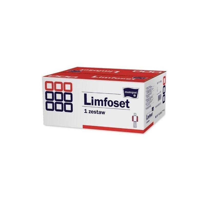 Limfoset zestaw do terapii obrzęku limfatycznego duży do kończ. górnej