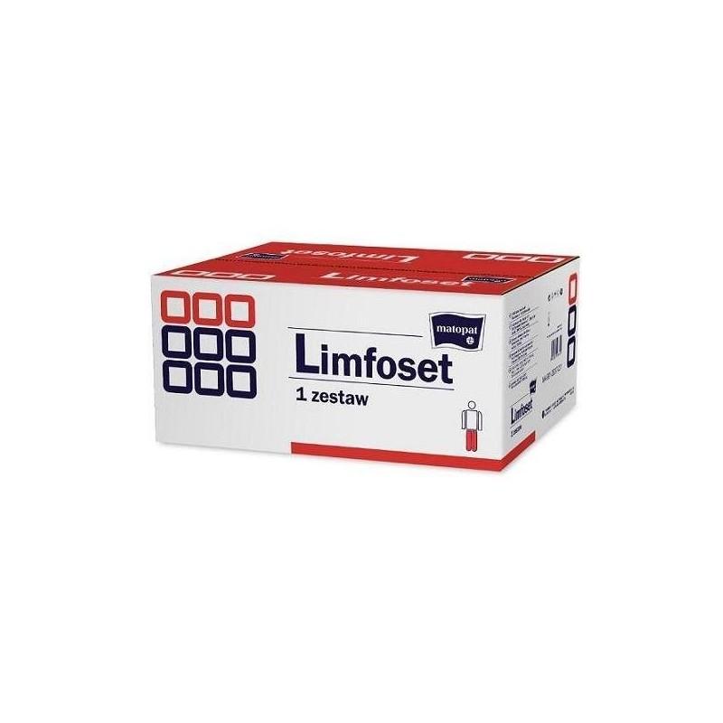 Limfoset zestaw do terapii obrzęku limfatycznego duży do kończ. dolnej