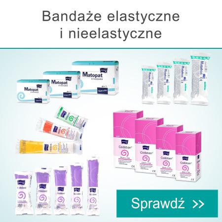 Bandaże elastyczne i nieelastyczne
