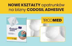 Nowe opatrunki Codosil Adhesive Brast